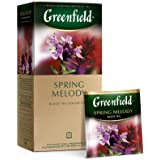 Greenfield Spring Melody Black Tea Fruit & Herbal Collection 25 Teabags The Execptional Freshness Of Tea Is Guranteed By…