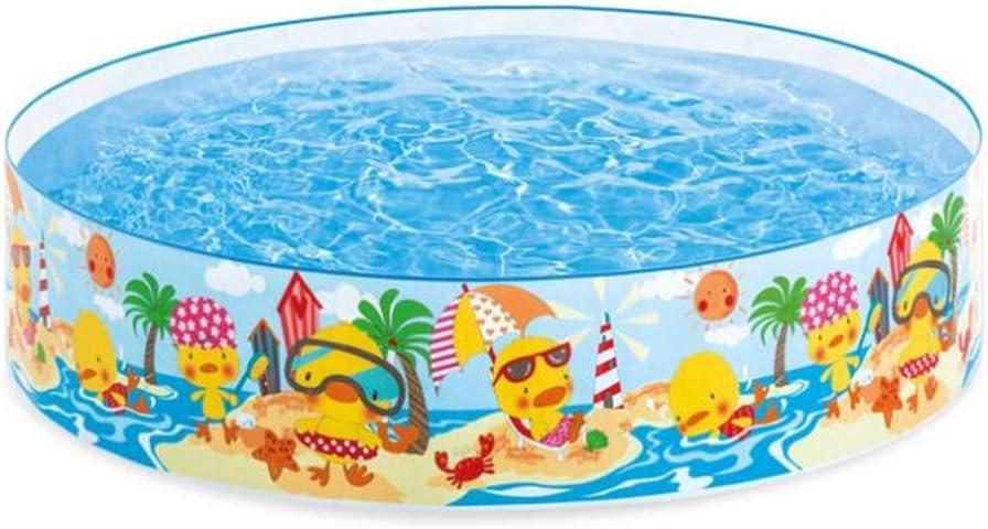 SUWIN Piscina pequeña de plástico Duro Frente a la Playa, Piscina ...