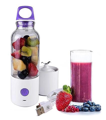 Dax-Hub [versión actualizada] Batidora de vaso para zumos, con