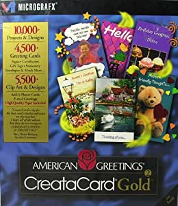 American greetings creatacard gold for windows 7