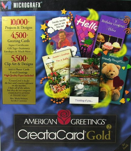 Price comparison product image American Greetings Creatacard Old Gold Version 2