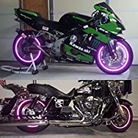 customTAYLOR33 New Special Edition Purple High Intensity Grade Reflective Copyrighted Safety Rim Tapes 10 Rim Size