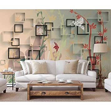 Nish 3d Wallpaper For Living Room Wall Mural 089 Textured Paper Wall Covering Xs 6ft X 4ft 1pc Amazon In Home Improvement