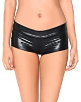iHeartRaves Metallic Booty Shorts, Shiny Bottoms For Dancing, raves, Festivals, Costumes