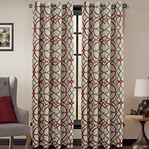 H Versailtex Insulated Blackout Length Set Panels Taupe product image