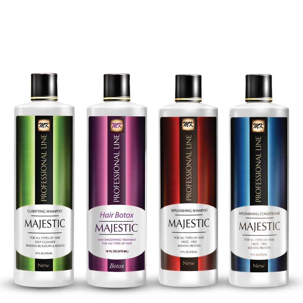 Majestic Hair Botox 475ml (16oz) - Formaldehyde Free - Complete KIT