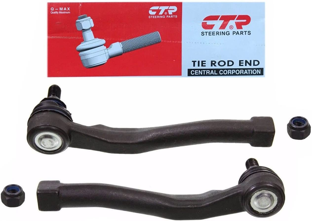 Set Of 2 Front Outer Tie Rod Aveo Aveo5 End Pair 93740723 /& 93740722 CTR