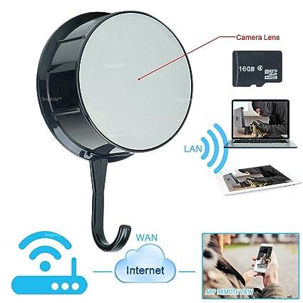 TOUGHSTY 16GB 1080P HD Camara Espia Ocultas Wifi Inalambrica para Casa Acceso Remoto de Celular Android