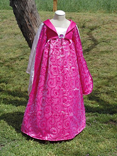 Girls 10 Renaissance Maiden with petticoat included by Fru Fru and Feathers Costumes & Gifts