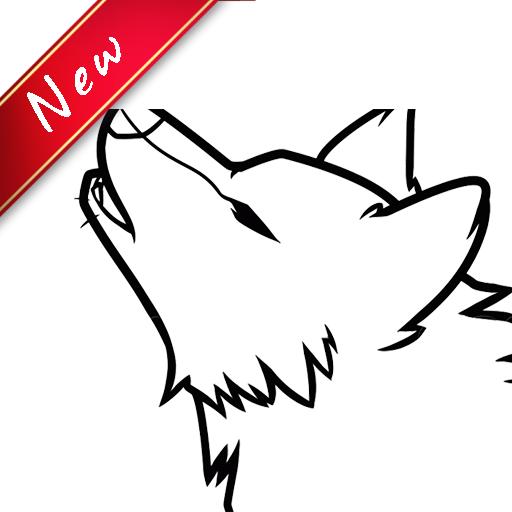 How To Draw Wolf (Draw App)