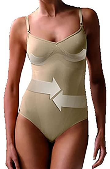 b8db7bd5f5557 Sexy Beige Skin Shaping body Shapes waist lifts bottom smooth tummy  supports bust supports back slimming shapewear body control 10 12 14 16 18  20 UK  ...