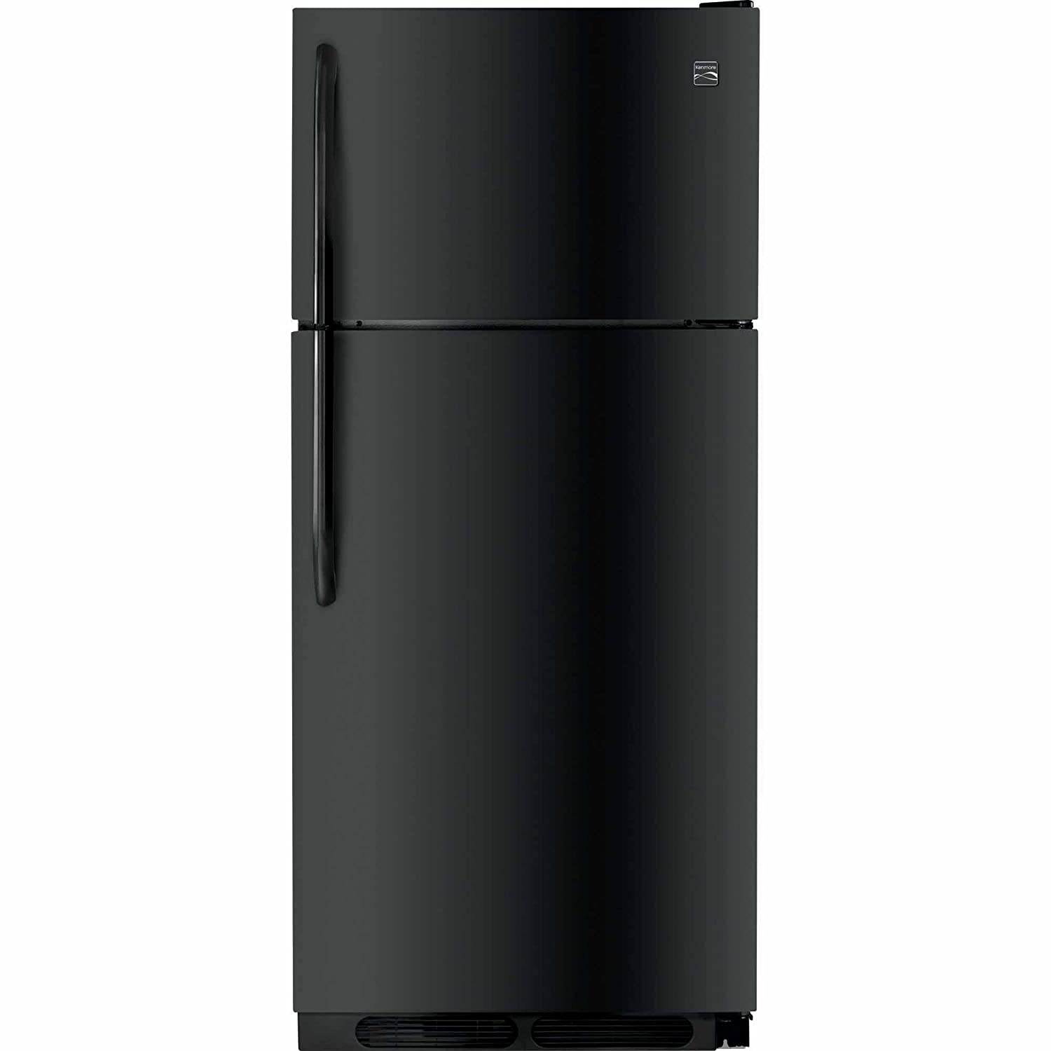 Kenmore 60409 16.3 cu. ft. Top-Freezer Refrigerator in Black, includes delivery and hookup (Available in select cities only) 04660409