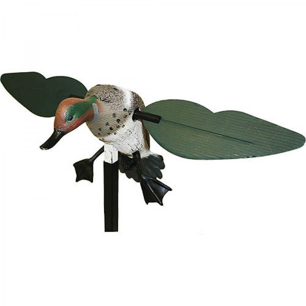 MOJO Outdoors Green Wing Teal Motion Duck Decoy by MOJO Outdoors (Image #3)
