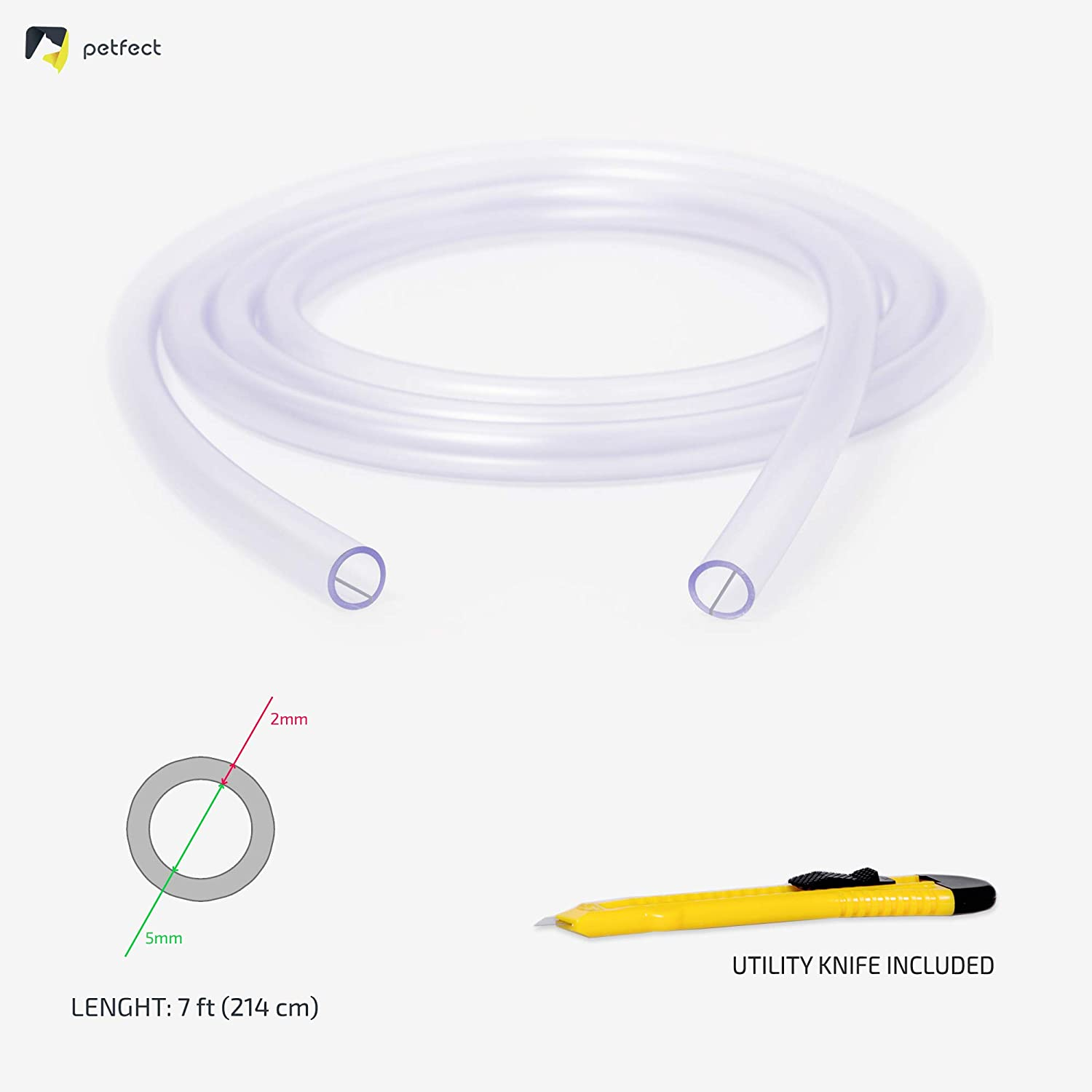 Pet Wire Protector Flexible Cable Sleeve 7ft 2mm Thick Overfloor Universal Protection Usb Rca Hdmi Cables Odor Free Cat Dog Chew Proof Electrical Power Charger Cord Cover For Lighting