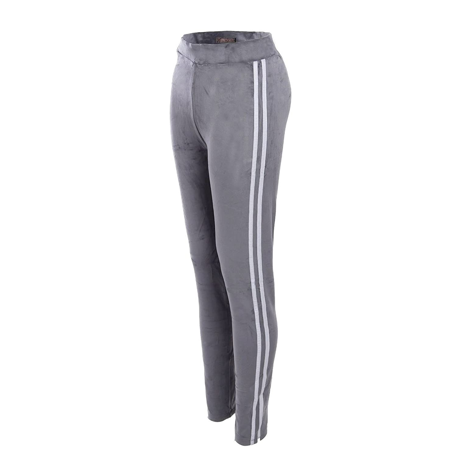SUFIAH ® Womens Active Yoga Jogger Fleece Trousers Ladies Tracksuit Bottoms Jogging Gym Pants Relax Size 8-16