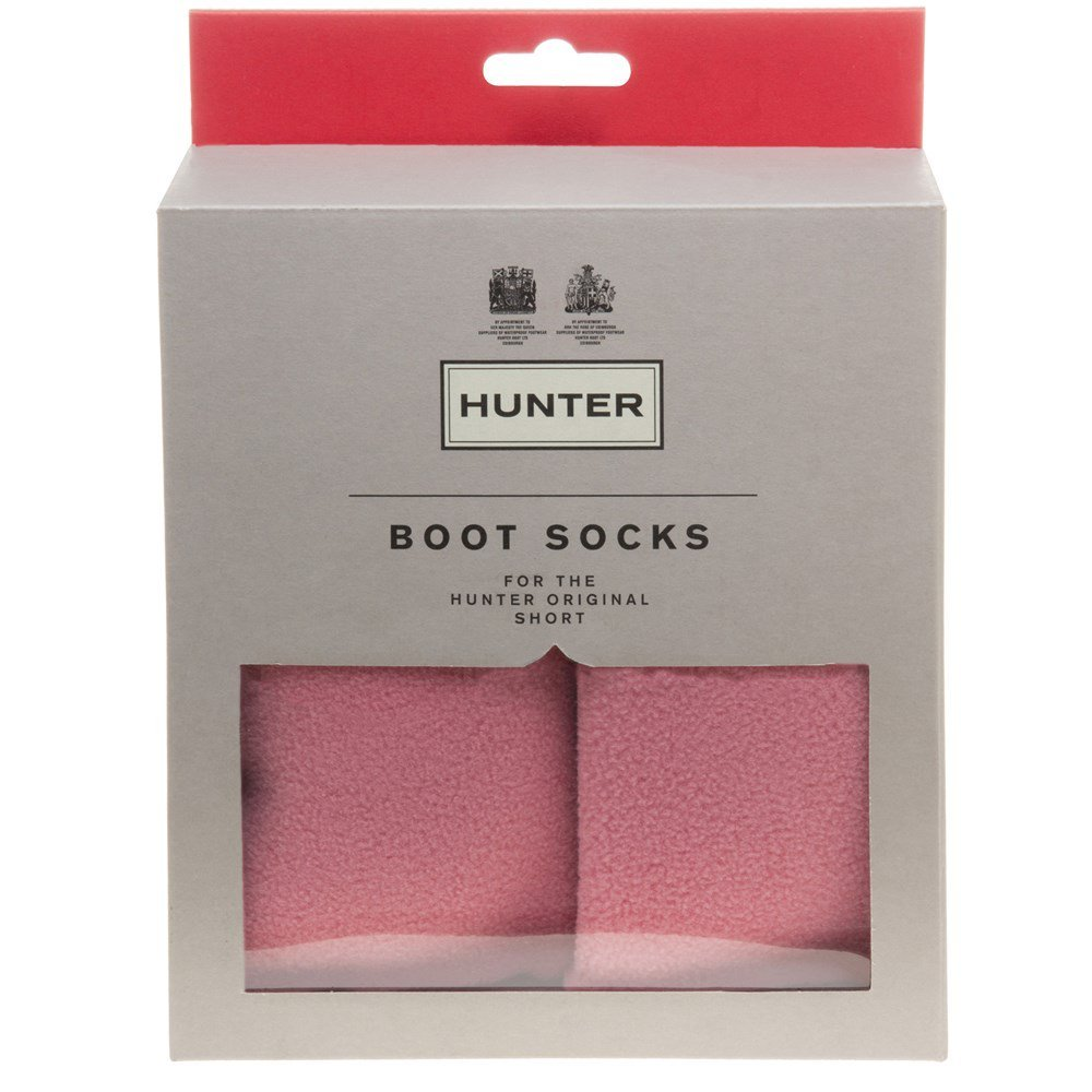 Calcetines Hunter cortos de forro polar, color Rosa, talla 38 EU : Amazon.es: Ropa y accesorios