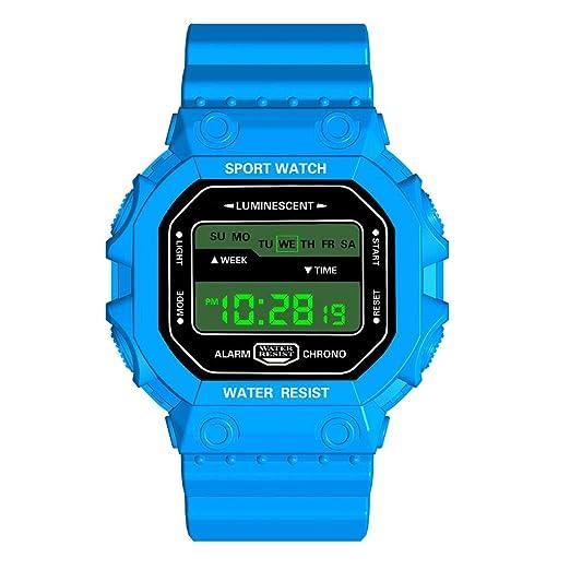 VEHOME Relojes de Pulsera HONHX Lujo Reloj analógico Digital para Exteriores, Deporte Militar LED, Reloj Impermeable Relojes relojero Reloj reloje ...