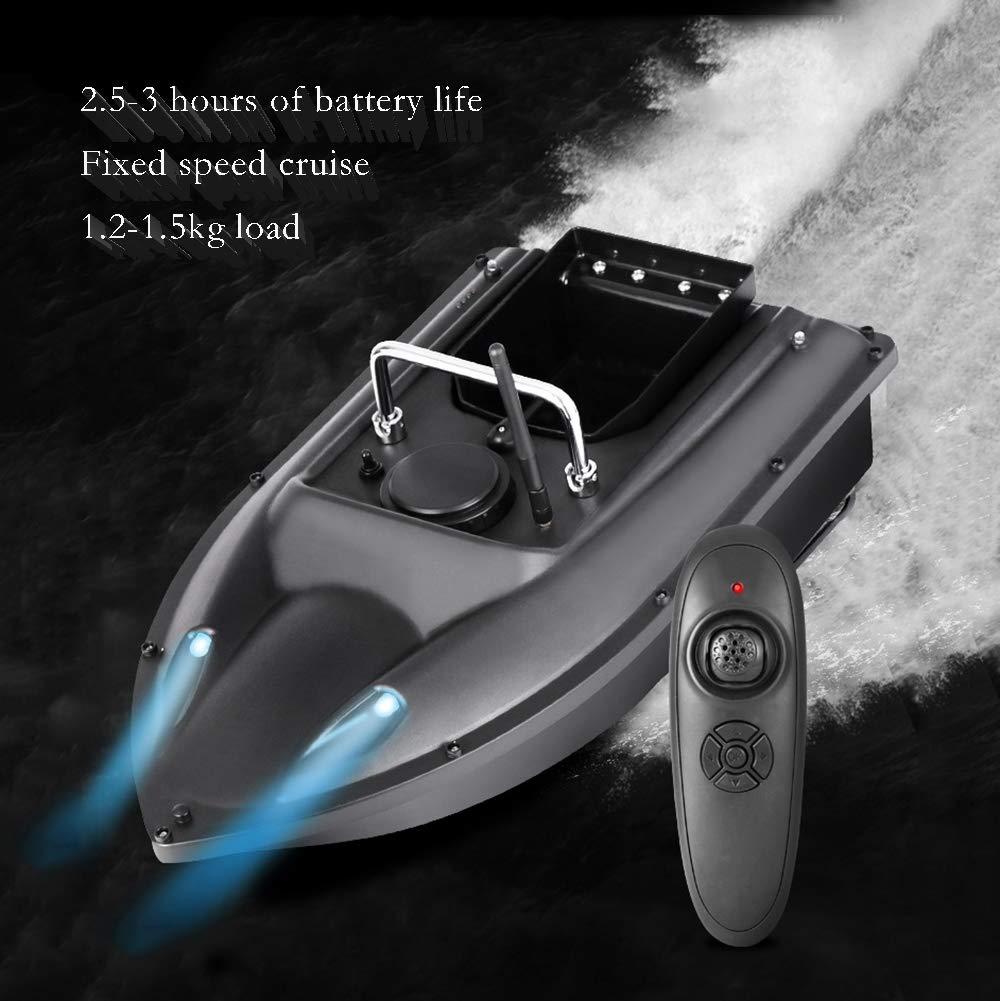 Batterie Mit Gro/ßer Kapazit/ät 500-M-Fernbedienung F/ür Intelligentes K/öderschiff RC-Einhandkreuzfahrt Mit Fester Geschwindigkeit WWSHIP Fish Finder Fischk/öderboot