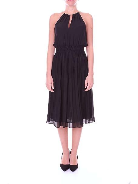 Michael Kors Donna Vestito Abito Senza Maniche Elegante Casual Art.  MU78X037R3  Amazon.it  Abbigliamento beee0c8e41e