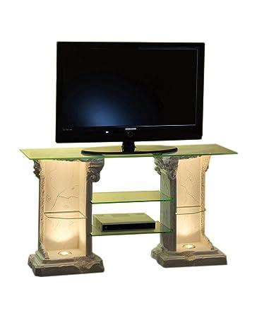 Antikes Wohndesign Tv Rack Regal Siedeboard Fernsehschrank Tv