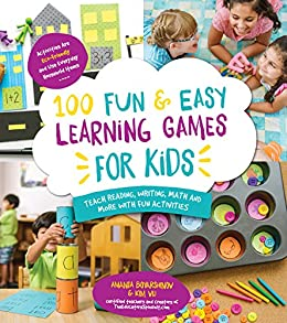 Amazon Com 100 Fun Easy Learning Games For Kids Teach Reading