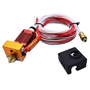 Binchil Kit de Extrusora Hotend CR10 de Cabeza J Completamente ...