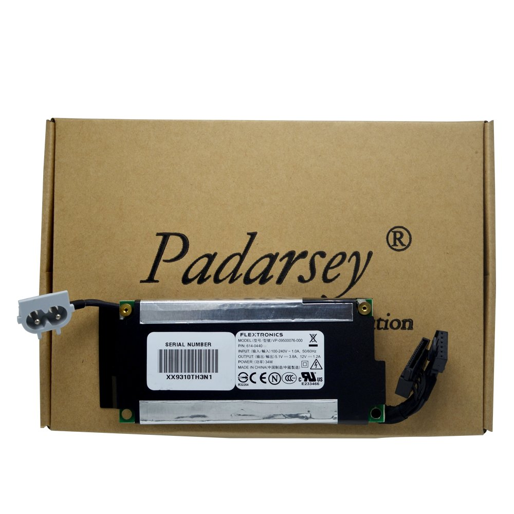 Padarsey Replacement Internal Power Supply Compatible for Time Capsule 614-0412 614-0414 614-0440