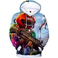 JIEFEIZHL Unisex Men 3D Graphic Print ing Hooded Hoodies