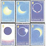 United Kingdom-Alderney 131-136 (Complete.Issue.) 1999 Eclipse (Stamps for Collectors)
