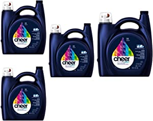 Cheer HE Liquid Laundry Detergent, 96 Loads 150 oz 4 Pack