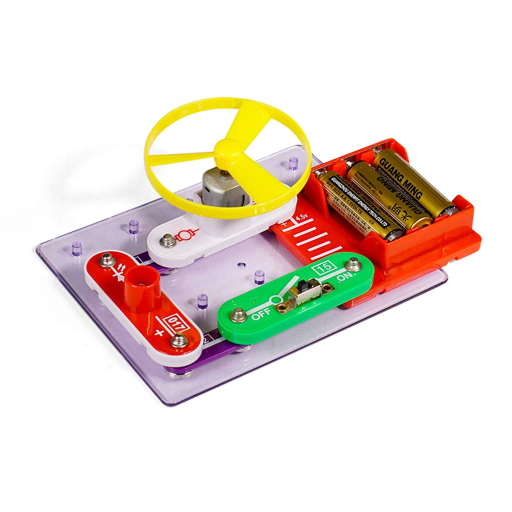 Cuifress Educational Snap Circuits Electronics Discovery Blocks Kit Science Toy Kids DIY by Cuifress (Image #1)