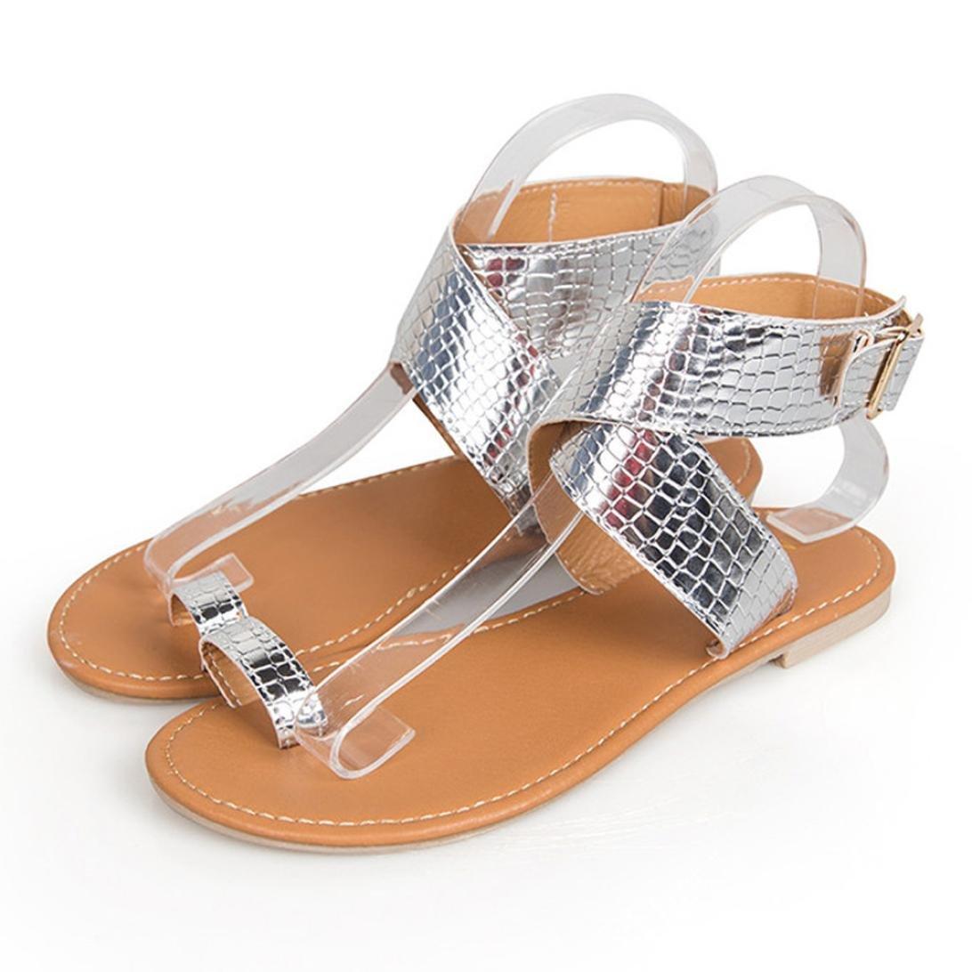 Beikoard Promozione della Moda Sandali Donna Taco Sandali Infradito Donna con Cinturino Incrociato a Vita Bassa