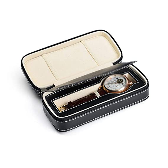 Jia He Caja de Reloj - Caja de Almacenamiento portátil Caja de Almacenamiento de joyería Bolsa de Reloj Caja de exhibición de Reloj Caja de Almacenamiento ...