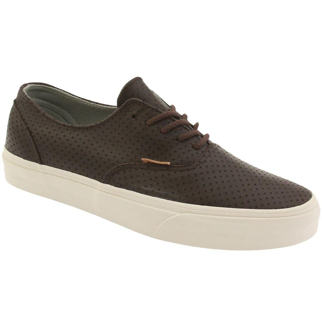 1e006f7fc0 Vans Men s Era Decon + Leather Emboss Ankle-high Skateboarding Shoe Seal  Brown 11 D(M) US  Buy Online at Low Prices in India - Amazon.in