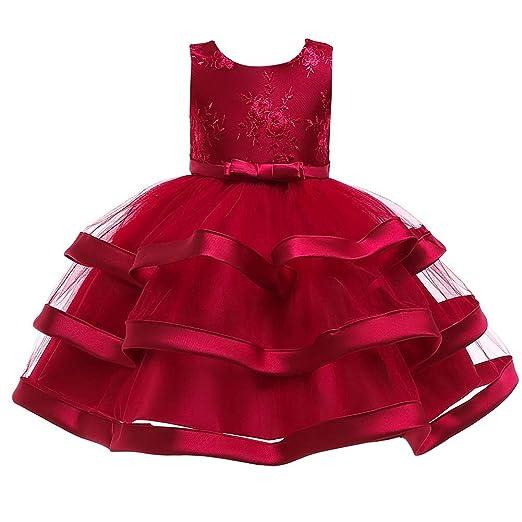 Susulv-CL Vestido de Traje de Princesa 2019 Falda para niños ...