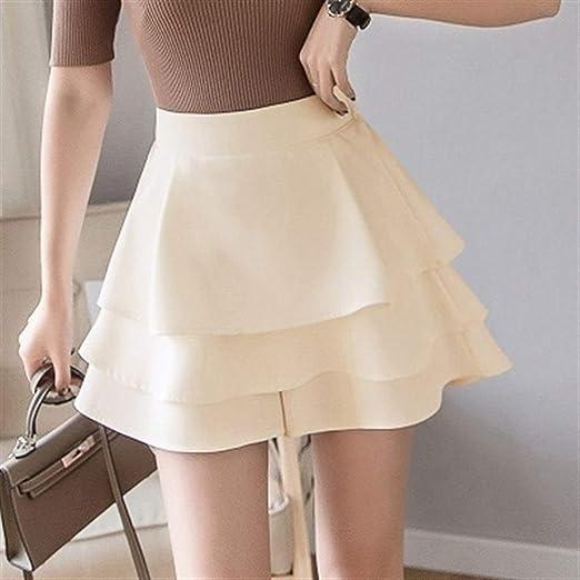Pantalones Cortos de Tul for Mujer Faldas Ruffles en Capas Pastel ...