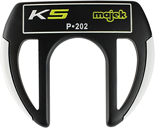 Majek K5 P-202 Golf Putter Right Handed Claw Style with Alignment Line Up Hand Tool 34 Inches Men s Standard Length Perfect for Lining up Your Putts