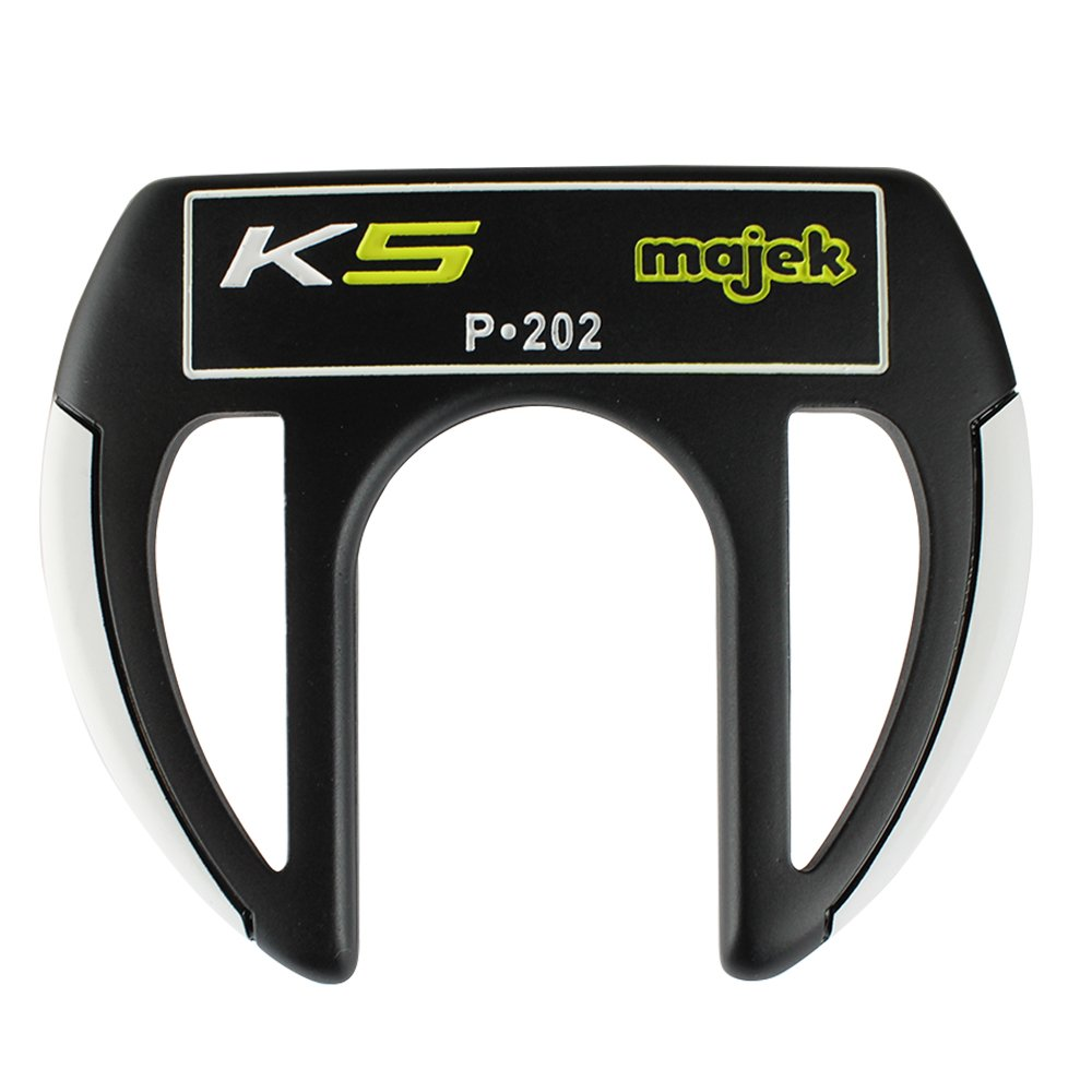 Majek K5 P-202 Golf Putter Right Handed Sabertooth Claw Style with Alignment Line Up Hand Tool 36 Inches Tall Men s Perfect for Lining up Your Putts