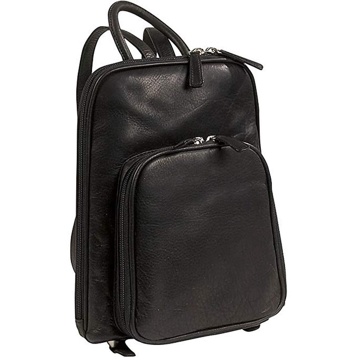 Osgoode Marley Cashmere Small Organizer Backpack (Black)
