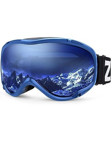 e469822cfed1 Zionor Lagopus Ski Snowboard Goggles UV Protection Anti-Fog Snow Goggles  for Men Women Youth