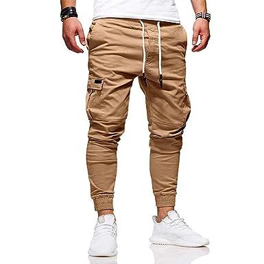 Amazon.com: FLAMINGO_STORE - Pantalones deportivos con ...