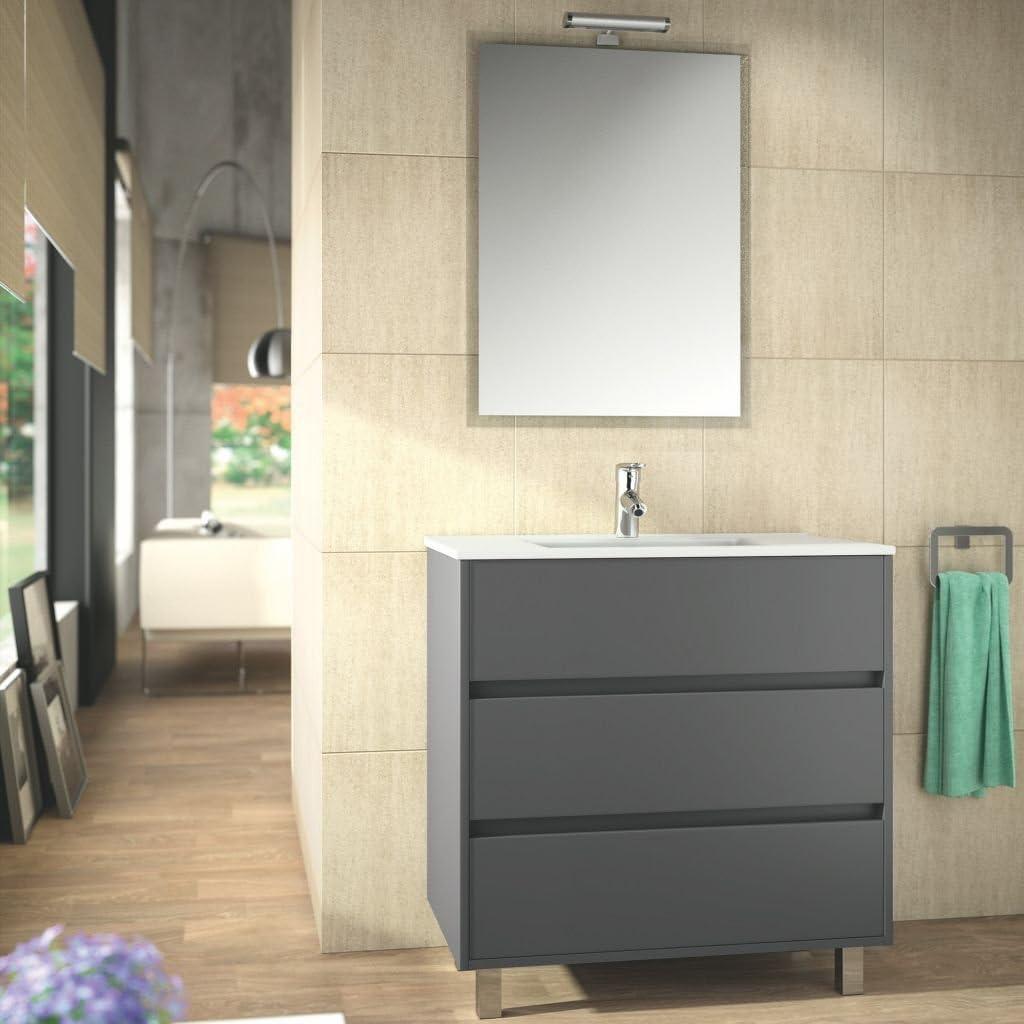 Salgar – Bathroom Furniture Set Bathroom Arenys 8 Matte Grey