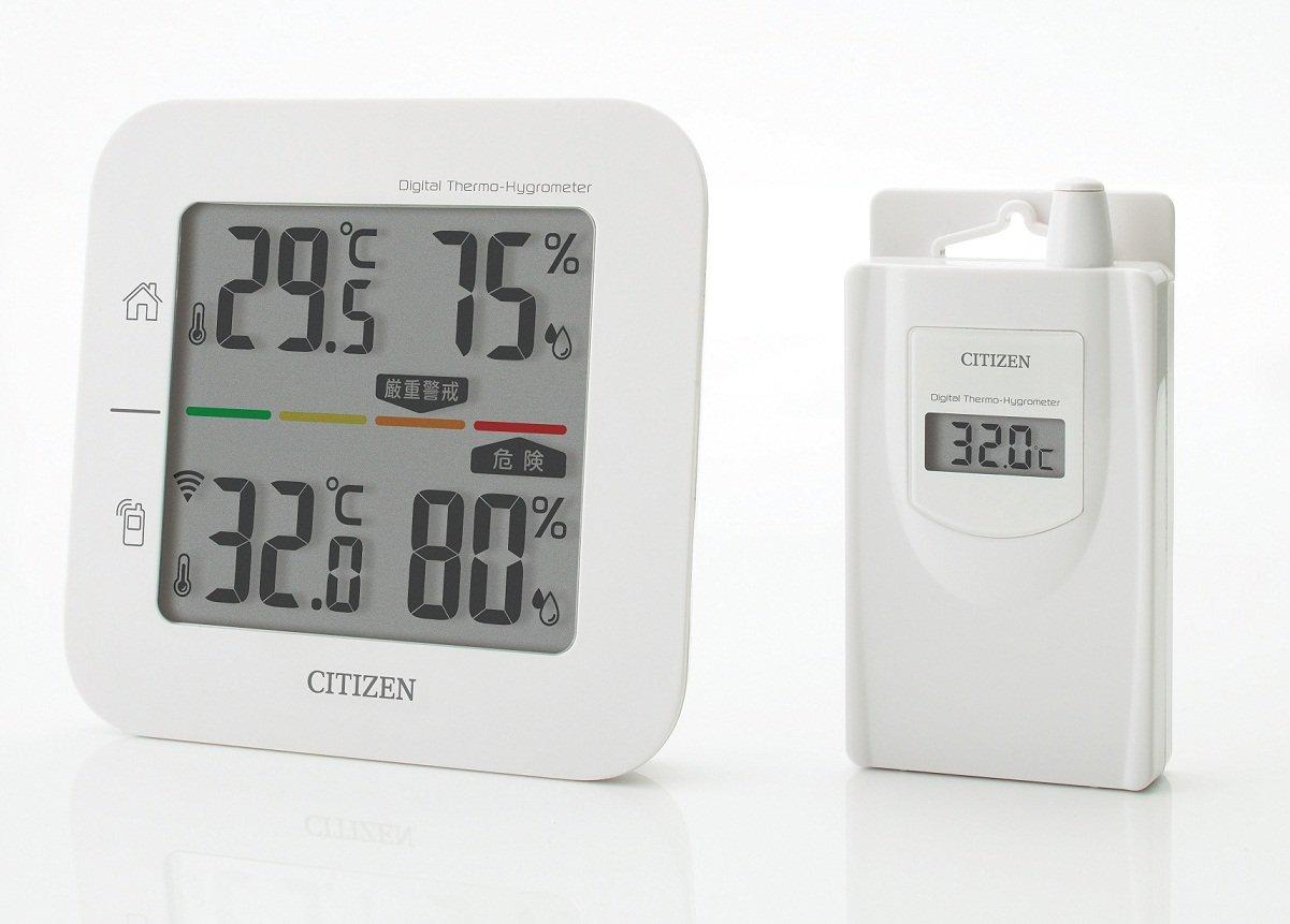 シチズンコードレス温湿度計THD501