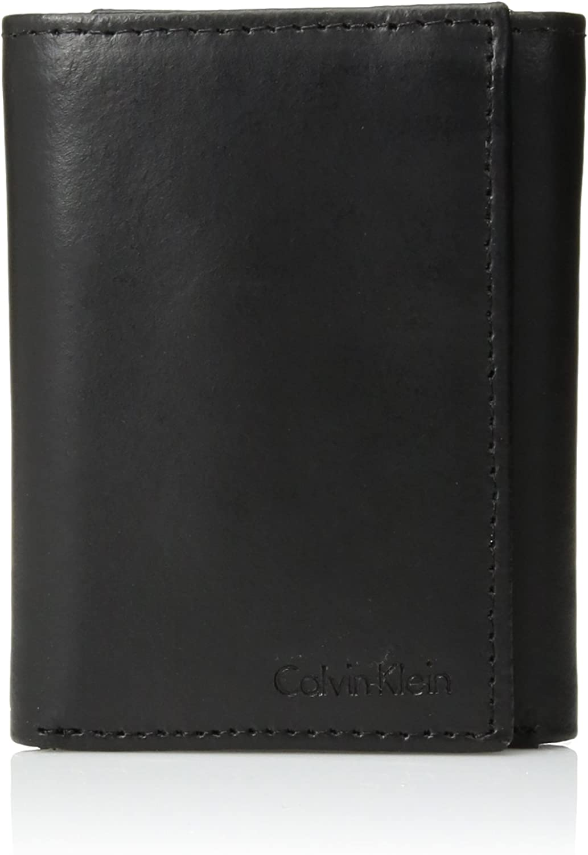 Amazon.com: Conjunto de billetera de tres compartimentos y ...
