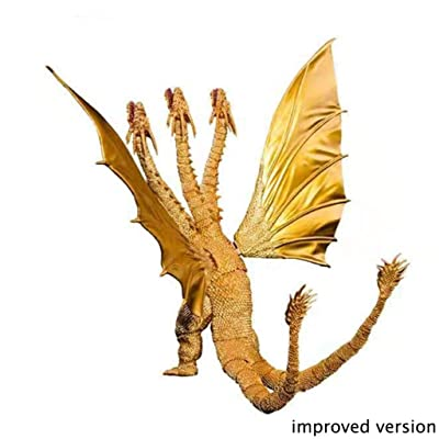 Shunsong shop Godzilla 2 King of The Monsters :King Ghidorah PVC Figure- Have Multiple Accessories: Toys & Games