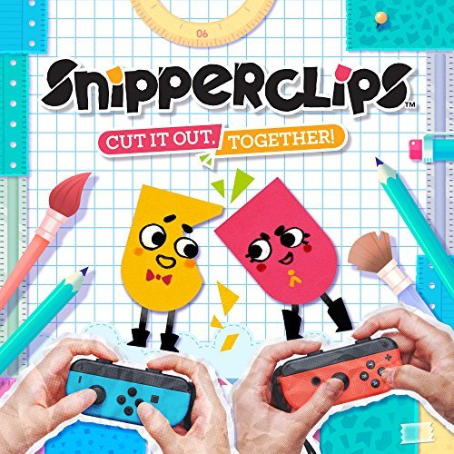 Snipperclips: Cut it out, Together! - DLC - Nintendo Switch [Digital Code]