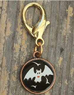 product image for Diva-Dog 'Bat' Resin-coated Disc Dog Collar Charm