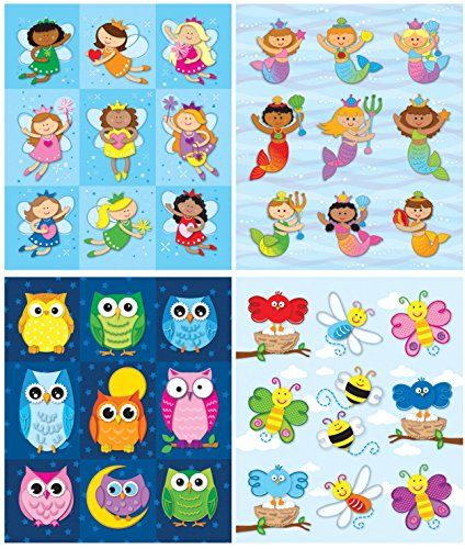 Carson-Dellosa Girls Prize Sticker Set, Pack of 576