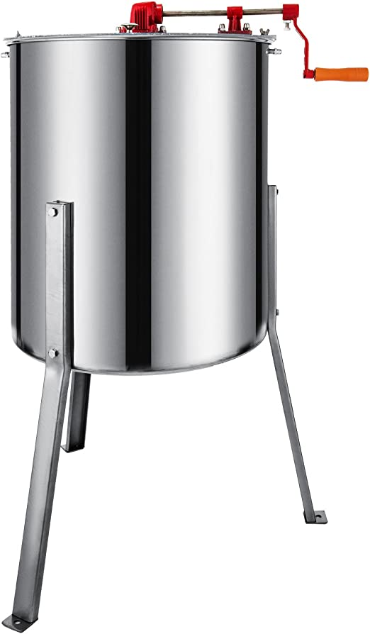 """2 Frame Electric Honey Extractor 24/"""" Barrel Height Beehive Tank Stainless Steel"""