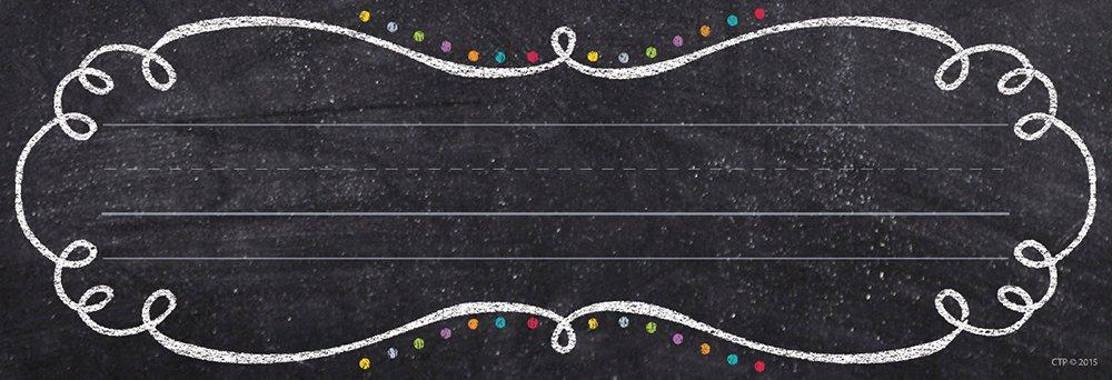 Creative Teaching Press Swirls & Twirls Name Plates (4463)